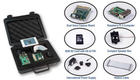 Low-cost udviklingskit til Alexa Voice Service (AVS