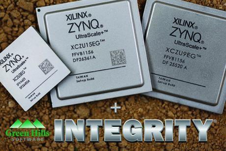 Nu er der INTEGRITY løsninger tilgængelig til Xilinx Zynq